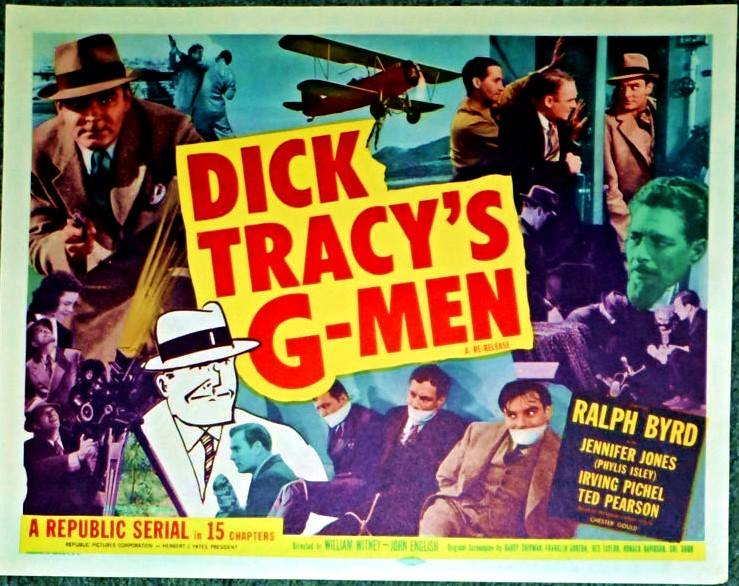 Ralph Byrd and Irving Pichel in Dick Tracy's G-Men (1939)