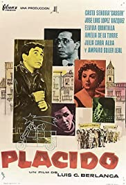 Plácido (1961) Poster - Movie Forum, Cast, Reviews