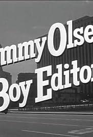 Jimmy Olsen, Boy Editor Poster