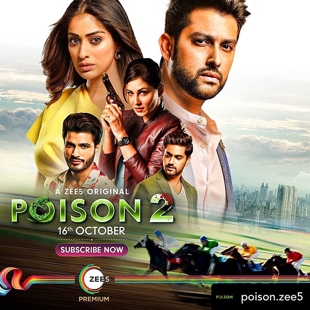 Poison (2020) Season2 – Ep1-10 – Hindi – ZEE5 – WEB-DL – 1080p – AAC2.0 – H264 – Telly