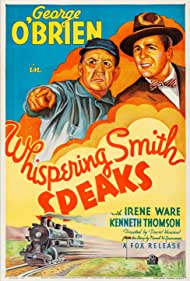 Spencer Charters and George O'Brien in Whispering Smith Speaks (1935)