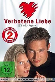 Andreas Brucker and Valerie Niehaus in Verbotene Liebe (1995)