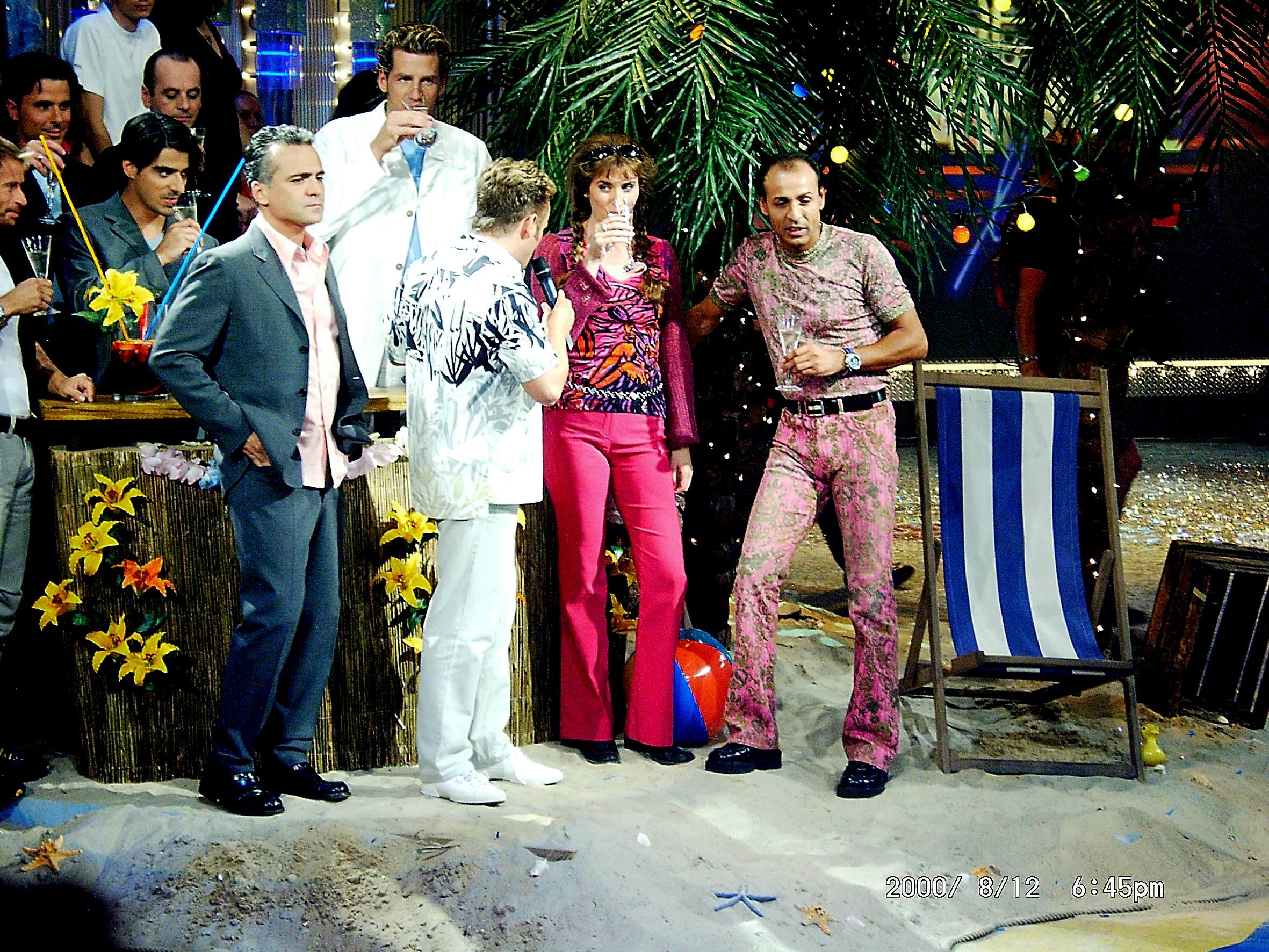 Nino De Angelo, Uwe Hübner, André Stade, Ibrahim Bekirovic, and Claudia Christina in ZDF Hitparade (1969)
