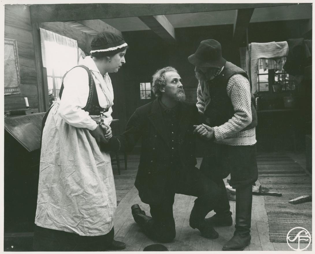 Victor Sjöström in Terje Vigen (1917)