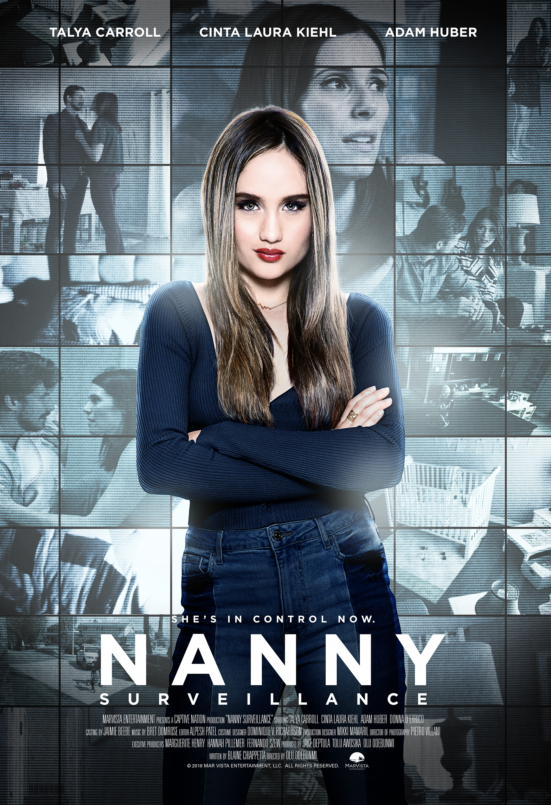 Nanny Surveillance Tv Movie 2018 Imdb