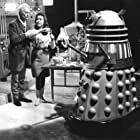 Peter Cushing and Jill Curzon in Daleks' Invasion Earth 2150 A.D. (1966)
