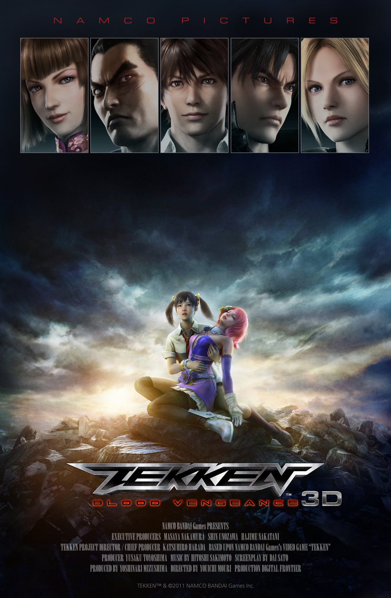 Tekken Blood Vengeance 2011 Imdb