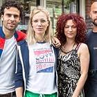 Jennifer Hoffman, Eva van de Wijdeven, Tibor Lukács, and Oscar Aerts in Hartenstrijd (2016)