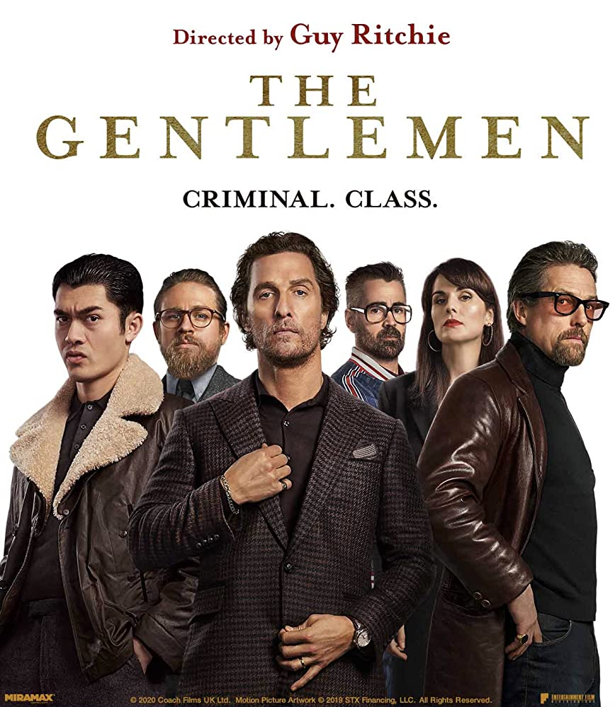 The Gentlemen 2020 Hindi English 720p HDRip