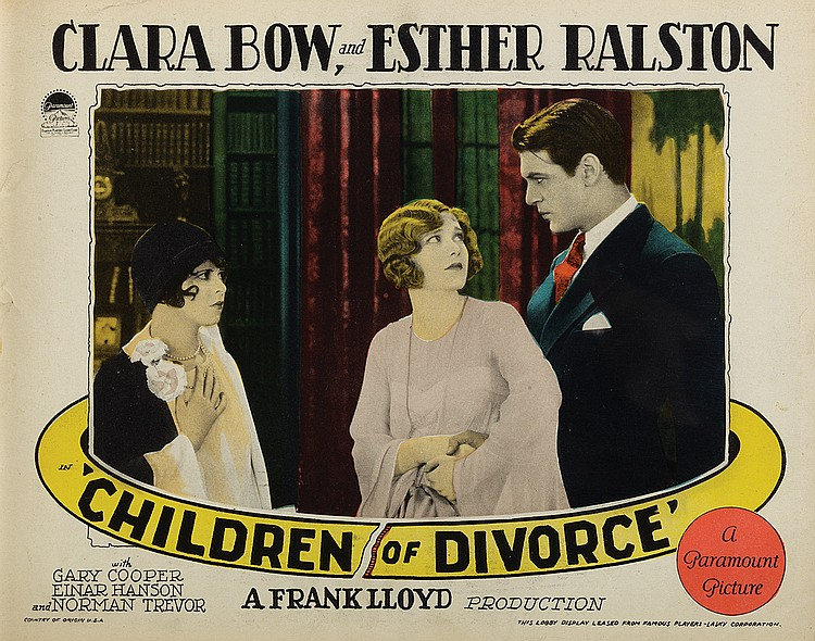 Image result for Children Of Divorce 1927