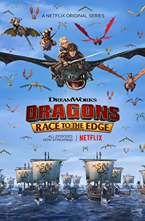 Where to stream Dragons: Race to the Edge