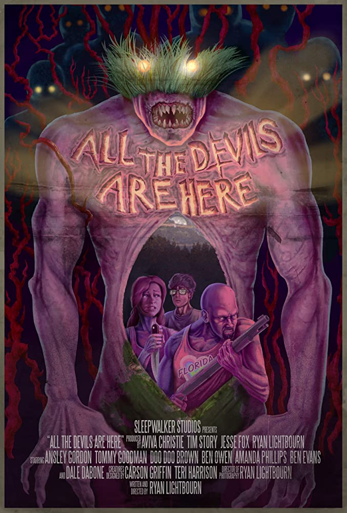 Doo-Doo Brown, Ansley Gordon, and Tommy Goodman in All the Devils Are Here (2014)