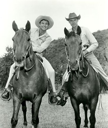 John Bromfield and James Griffith in U.S. Marshal (1958)