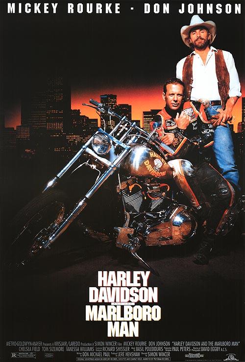 Harley Davidson ir Kaubojus Marlboro