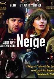 Neige Poster