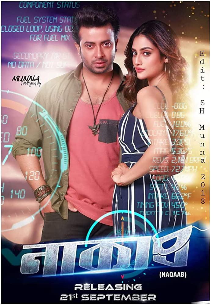 Naqaab (2018) Bengali Full Movie 480p HDRip 350MB bdboss25.com