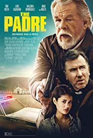 Nick Nolte and Tim Roth in The Padre (2018)