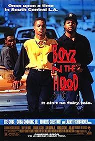 Cuba Gooding Jr., Ice Cube, and Morris Chestnut in Boyz n the Hood (1991)