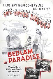 Bedlam in Paradise Poster