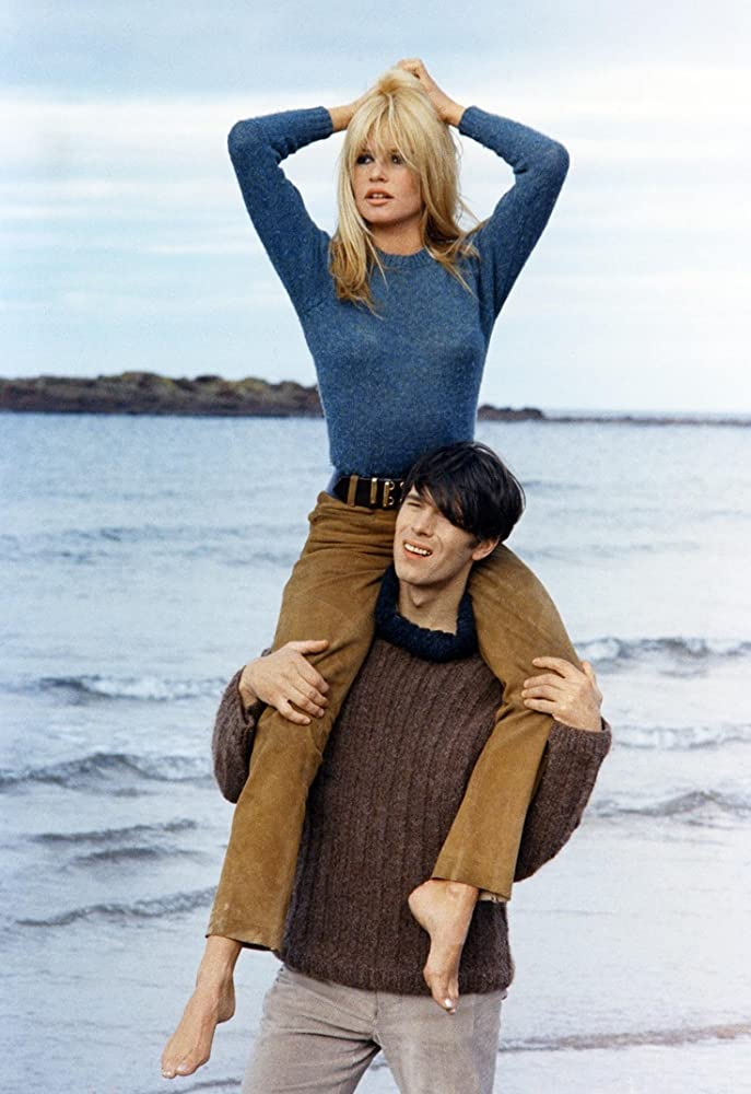 Brigitte Bardot and Laurent Terzieff in  coeur joie 1967