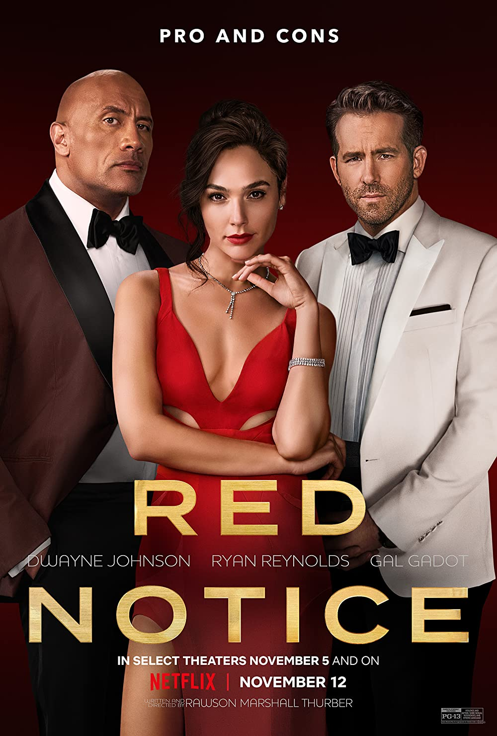 RED NOTICE 2021 Hindi Dubbed Official Trailer NetFlix Movie 1080p HDRip Download