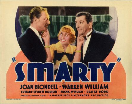 Joan Blondell, Edward Everett Horton, and Warren William in Smarty (1934)