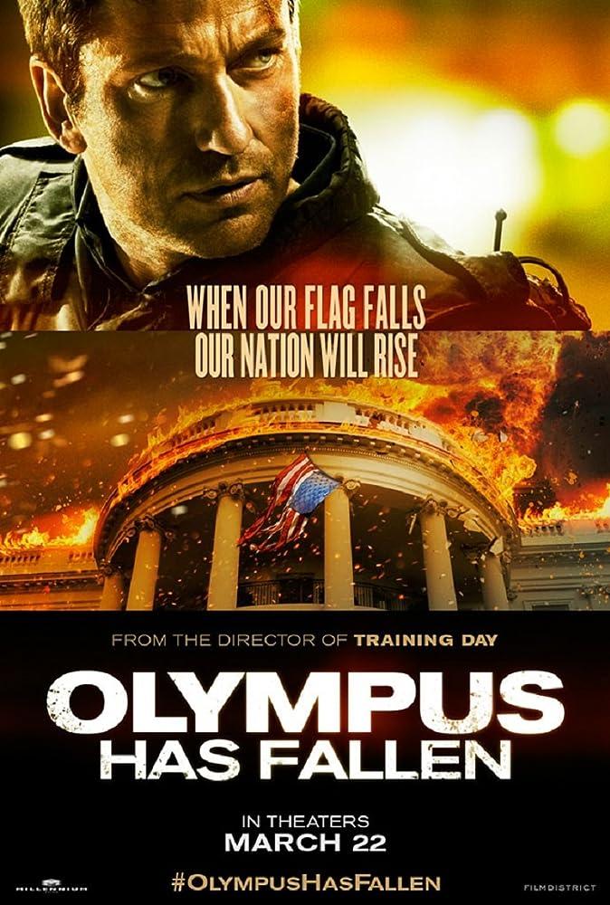 Olympus Has Fallen 2013 Dual Audio Hindi 400MB BluRay 480p ESubs Download