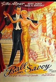 Ball im Savoy Poster