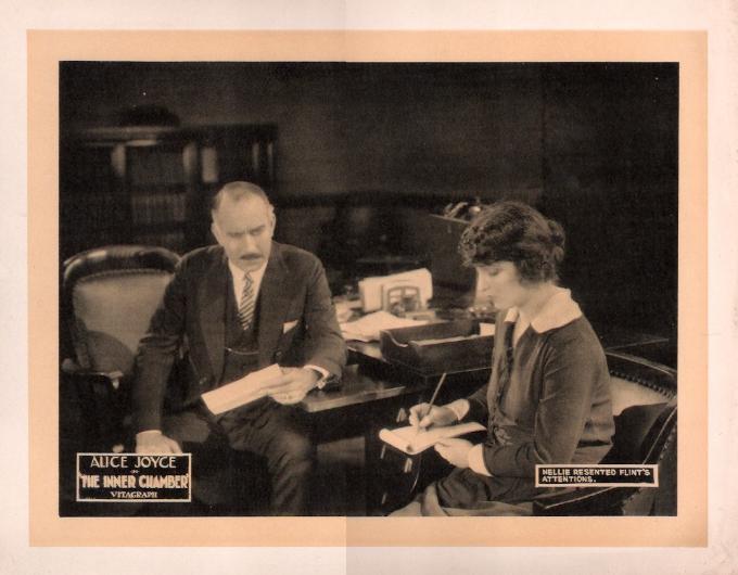 Holmes Herbert and Alice Joyce in The Inner Chamber (1921)