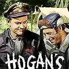 Bob Crane and Larry Hovis in Hogan's Heroes (1965)