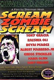 Scream, Zombie Scream Poster