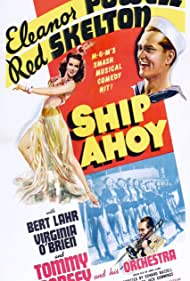 Eleanor Powell, Tommy Dorsey, and Red Skelton in Ship Ahoy (1942)
