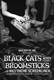 Black Cats and Broomsticks Poster