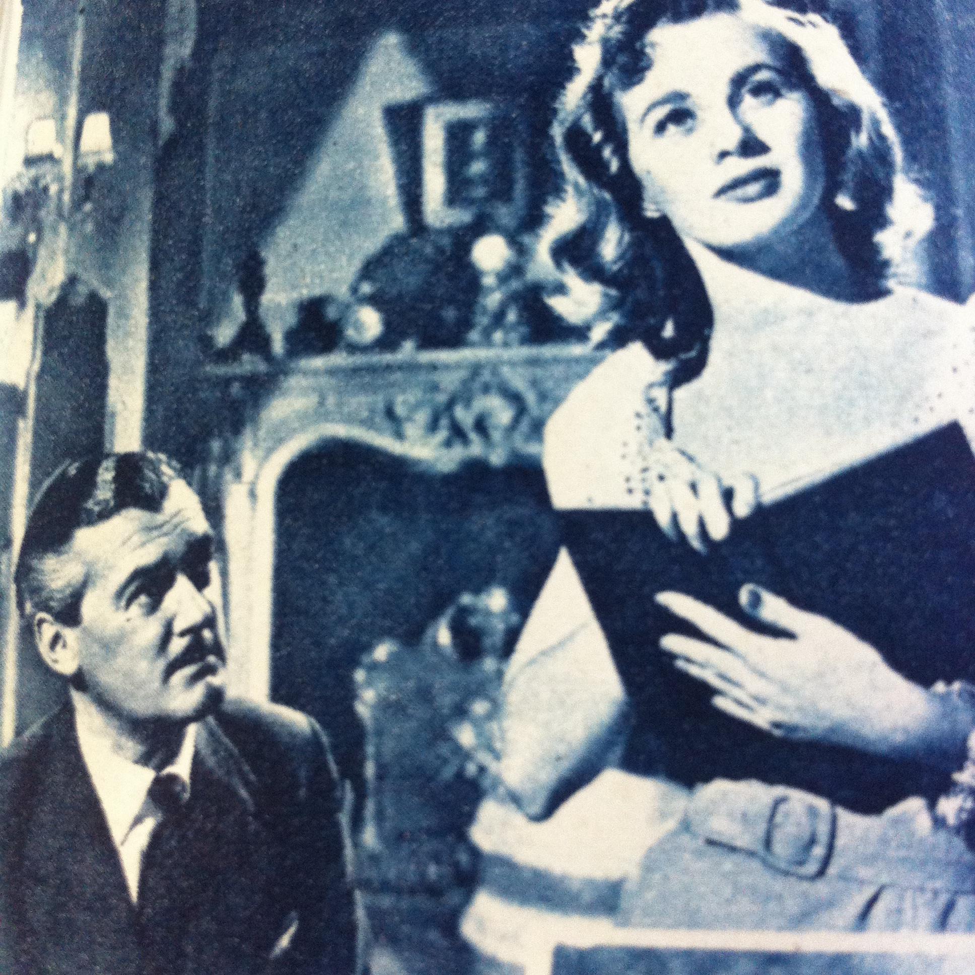 Hugh Williams and Mai Zetterling in The Romantic Age (1949)