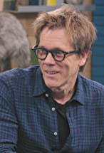 Primary image for Kevin Bacon Wears a Blue Button Down Shirt and Brown Boots