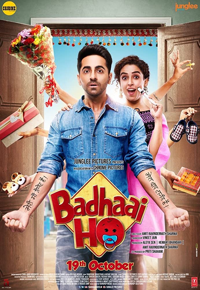 Badhaai Ho 2018 Hindi 1080p BluRay 2GB ESub Download