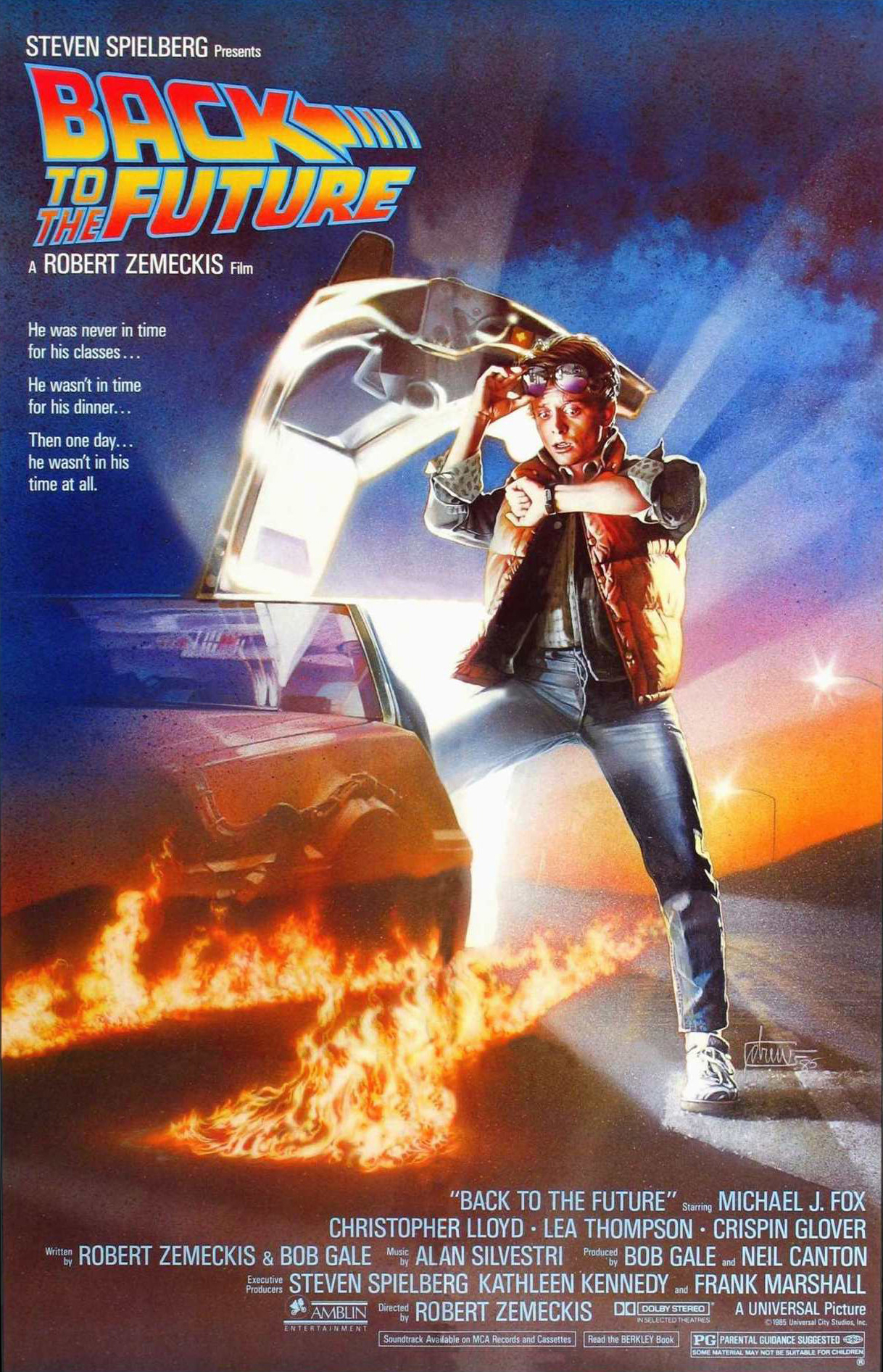 back to the future 1985 imdb