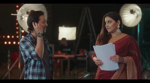 Aakash Dabhade commercial with Vidya Balan for darshan agarbatti
