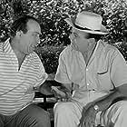 Vasilis Avlonitis and Fragiskos Manellis in To karpouzaki (1962)