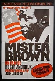 Mister Brown Poster