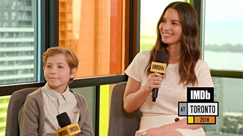 Olivia Munn and Jacob Tremblay's Close Encounters With 'The Predator'