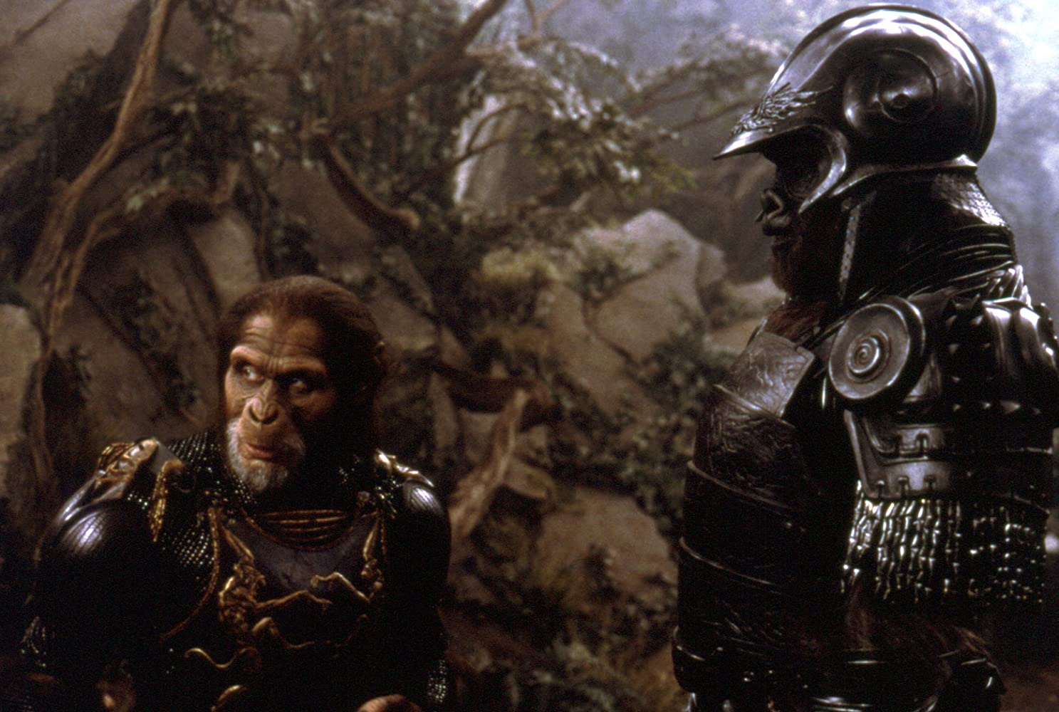 Tim Roth and Michael Clarke Duncan in Planet of the Apes (2001)