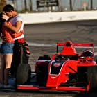 Michael Roark and Olivia Grace Applegate in That's one checkered flag I'm definitely claiming. (2021)