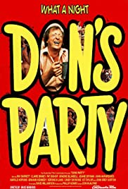 Don's Party (1976) Poster - Movie Forum, Cast, Reviews