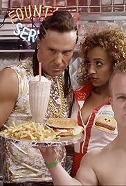 Fitty Smallz: Hamburger Fries & Shake Poster