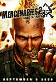 Mercenaries 2 world in flames video game 2008 imdb mercenaries 2 world in flames poster altavistaventures Choice Image