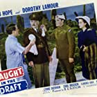 Bob Hope, Murray Alper, Clarence Kolb, and Dorothy Lamour in Caught in the Draft (1941)