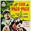 Olympe Bradna, Jon Hall, and Victor McLaglen in South of Pago Pago (1940)