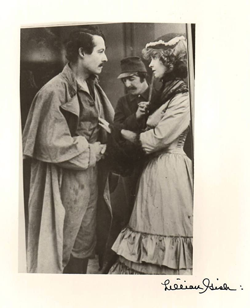 Lillian Gish, William Freeman, and Henry B. Walthall in The Birth of a Nation (1915)