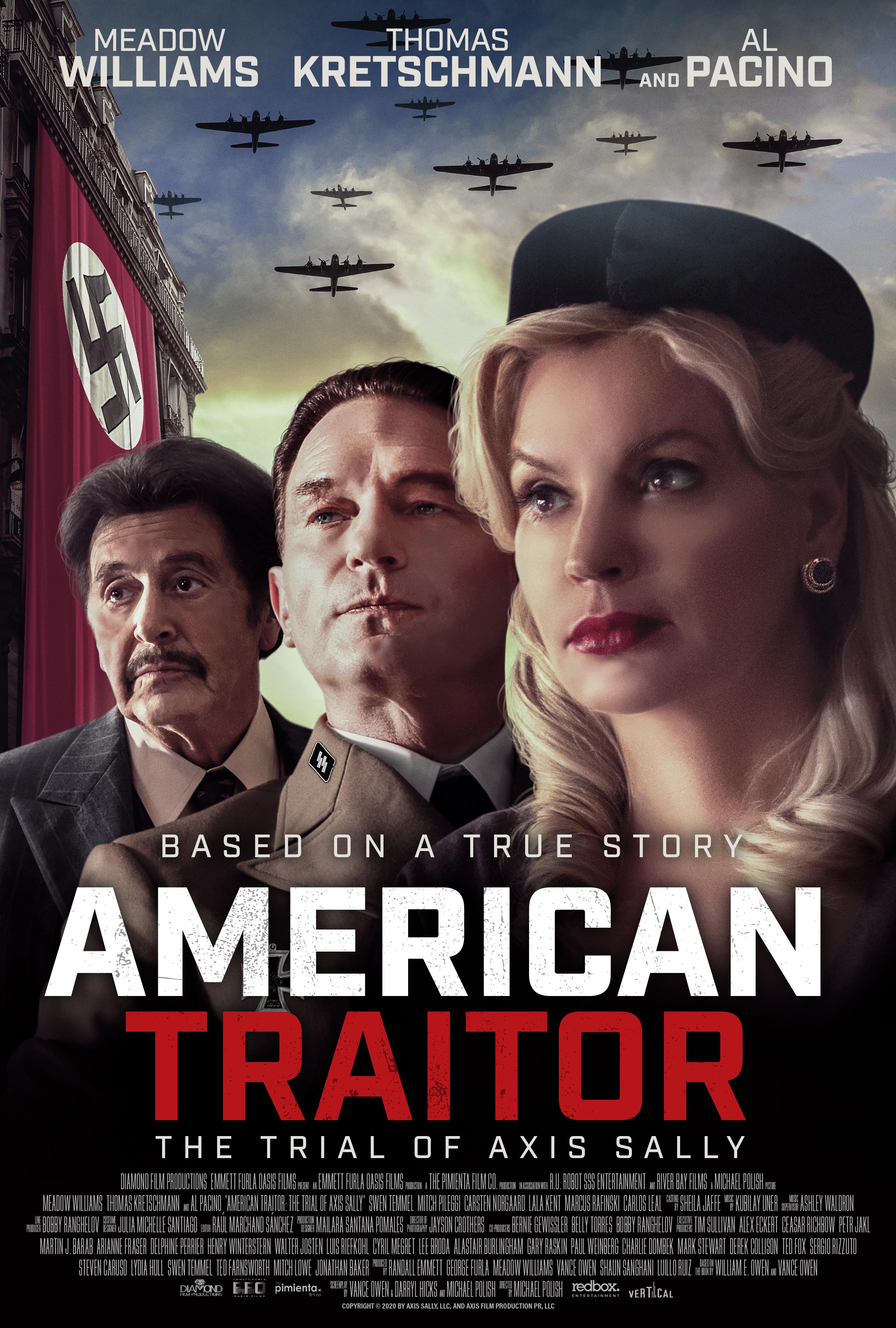 Phim Kẻ phản bội Mỹ: Phiên tòa xét xử Axis Sally - American Traitor: The Trial of Axis Sally (2021)